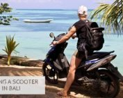 Renting A Scooter In Bali