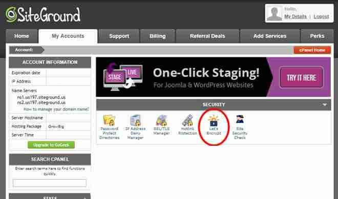 Free SSL Certificate Web Hosting